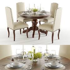 Pottery Barn - Sumner And Calais Dining Set | 3D Model Cheap Table And Chair Sets Getvcaco Kitchens Fniture Kitchen Image Grey Pottery Barn Bar Ding Room Decor Christmas Style Sumner Calais Set 3d Model Charming Table Centerpieces For Craigslist Turned Set House Of Diy Inspired For 100 Shanty 2 Chic Linden Mabry Chairs Round Outdoor Tablecloths Kids My First Chair Simply White