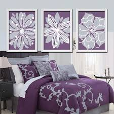 Bedding For Purple Walls Decoration Ideas Wall Lights Lavender Grey