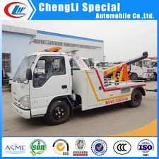 China Isuzu 6-Wheel 3t 5ton Wrecker Tow Truck For Sale - China ...