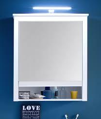 spiegelschrank bad schrank in weiß 2 türig 60 cm badezimmer