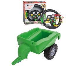 Details Zu Traktor Big John XL Tretfahrzeug Mit Loader Sitz 3fach Verstellbar NEUOVP