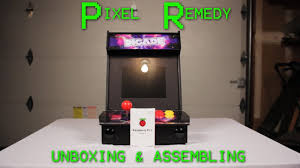 Raspberry Pi Arcade Cabinet Kit Uk by Unboxing And Assembling The Pimoroni Picade Kit Youtube
