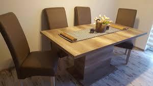 esstisch plus stühle 6x in 42553 velbert für 400 00 zum