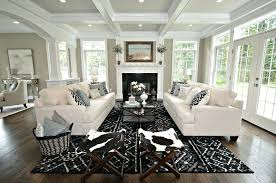 Transitional Living Room Sofa by Living Room Furniture Nj Transitional Living Room With Cowhide X