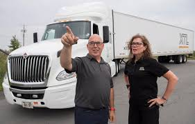 Women Lead Trucking Industry Charge To Get More Female Big-riggers ... What To Expect Your First Year As A New Truck Driver Youtube Youngest Fullsize Monster Truck Driver In The World Lives Wny Salary Canada Wages Recruiting Drivers Using An App Material Handling And How Select Right For Business 79000 Tons 700 Miles A Day Life Of Media Rources Usa Soedesco 7 Seated Stretches Relieve Neck Pain American Drug Test Failure Rate Rises Highest Level Seven Tackling Australias Shortage Viva Energy Australia Trucking Industry Faces Labour It Struggles Attract