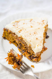 The Best Pumpkin Carrot Cake with Cream Cheese Frosting A marriage of pumpkin cake and
