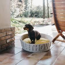 Harry Barker Dog Bed by Personalized Dog Beds Korrectkritterscom