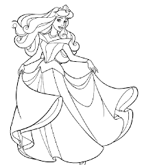 Beautiful Princess Coloring Book Pages 41 For Picture Page With