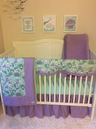 Little Mermaid Crib Bedding by Mermaid Crib Bedding In Lavender And Mint Made To Order Option
