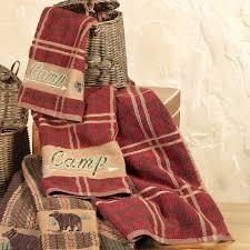 Camp Plaid Towel Set