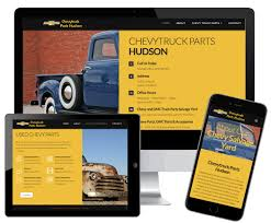 ChevyTruck Parts Hudson - JBK Website Design