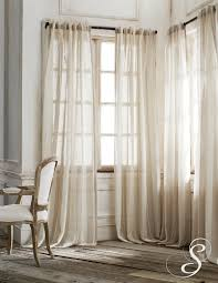 Pottery Barn Curtains Sheers by Homey Sheer Curtains For Front Door Windows And Sheer Curtain