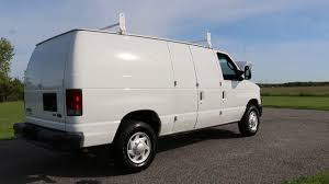 2011 Ford E250 Econoline Cargo Van For Sale~Racks~Divider~Bins~One ...