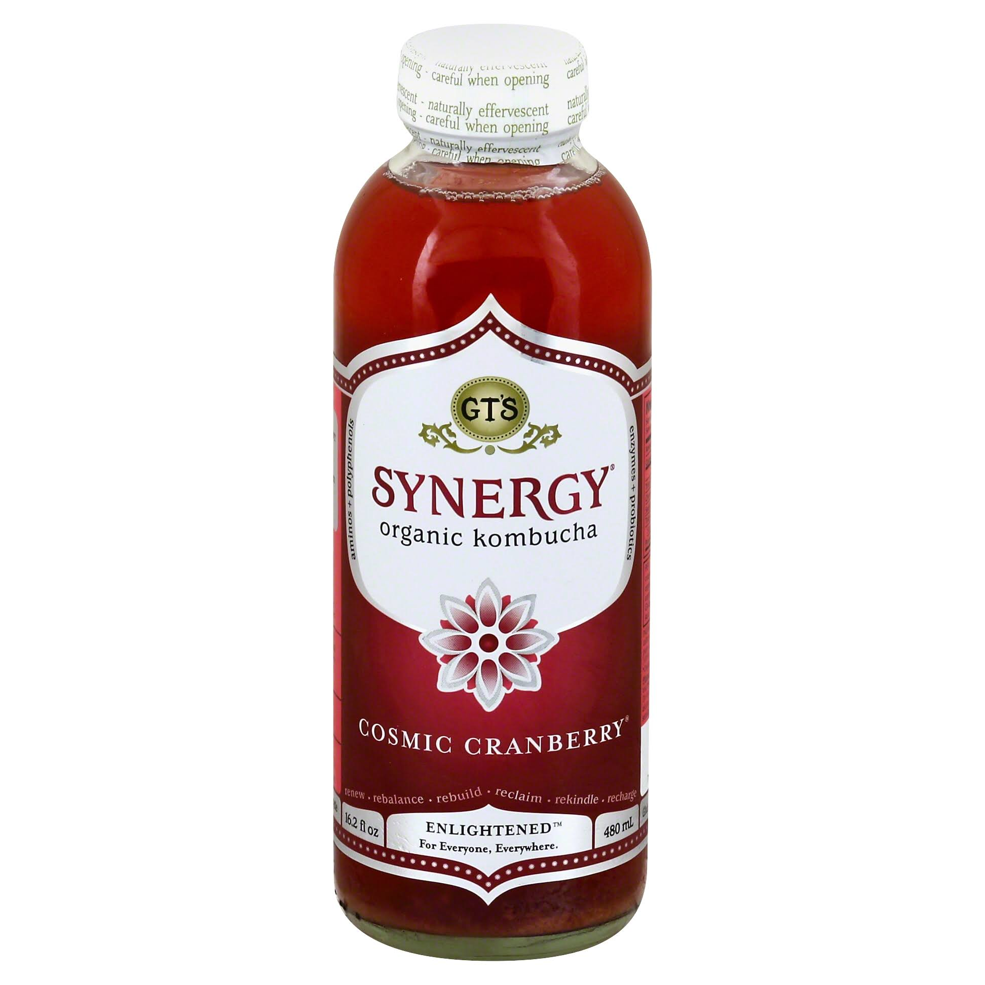 Kombucha Synergy Drink - Cosmic Cranberry