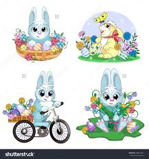 Fluffy easter bunny clipart explore pictures