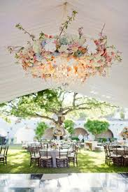 Create Beautiful Air Space with Hanging Floral Wedding Ideas