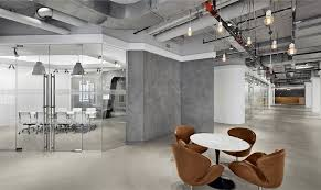 Industrial Aesthetic Office Space In Empire State Building