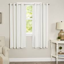 Eclipse Thermalayer Curtains Grommet by Blackout Curtain Panels Eclipse Curtains Microfiber Grommet White
