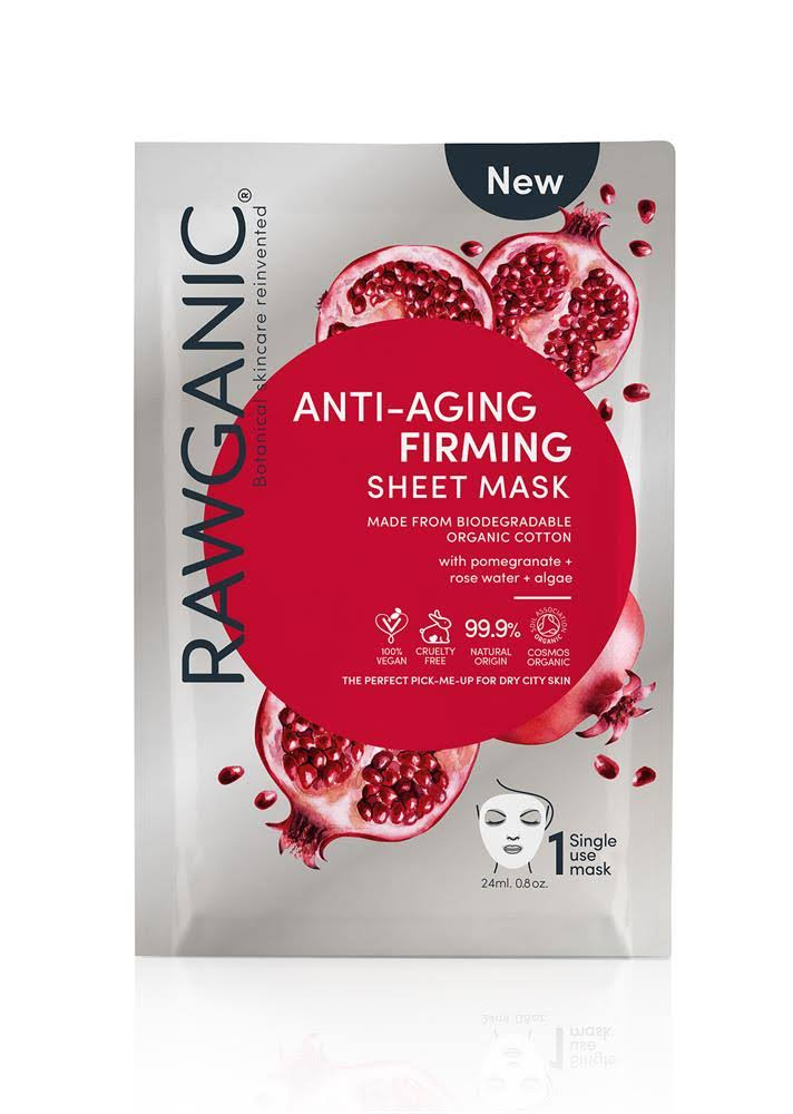Rawganic Anti Aging & Firming Organic Cotton Sheet Mask