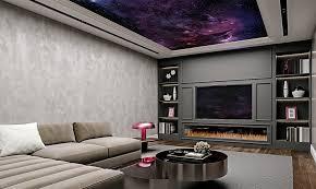 ideen für die gestaltung der decke in ihrem wohnzimmer
