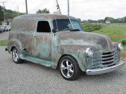 100 Chevrolet Panel Truck 1953 Custom 1953 Van Rat