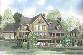 Farmhouse Houseplans Colors Log House Plans Home Design 153 1439 The Plan Collection