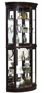 darby home co blakeway lighted corner curio cabinet reviews