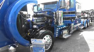 2017 Big Rig Truck Show, Massive 18 Wheeler Display, I-75 Chrome ...