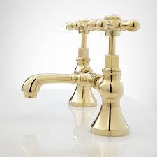 Menards Brass Bathroom Faucets by Monroe Bridge Bathroom Faucet Cross Handles Bathroom