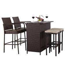 Cheap Patio Bar Table Sets, Find Patio Bar Table Sets Deals ... Details About Barbados Pub Table Set W Barstools 5 Piece Outdoor Patio Espresso High End And Chairs Tablespoon Teaspoon Bar Glamorous Rustic Sets 25 39701 156225 Xmlservingcom Ikayaa Modern 3pcs With 2 Indoor Bistro Amazoncom Tk Classics Venicepubkit4 Venice Lagunapubkit4 Laguna Fniture Awesome Slatted Teak Design With Stool Rattan Bar Sets Video And Photos Madlonsbigbearcom Hospality Rattan Soho Woven Pin By Elizabeth Killian On Deck Wicker Stools