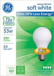 12 new ge 53 w 75 watt energy efficient soft white 890 lumens