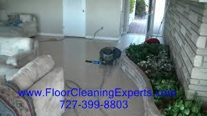Terrazzo Floor Restoration St Petersburg Fl by Clearwater Beach Terrazzo Restoration U0026 Polishing Mp4 Youtube