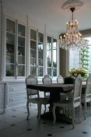 Built In China Cabinet Dining Room Huge The Grayish White Tones