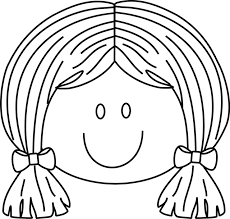 Girl Face Coloring Page Fablesfromthefriends Com