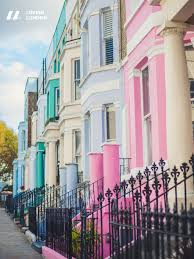 100 Notting Hill Houses London Wallpaper City Of London