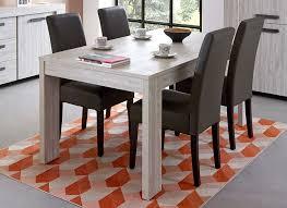 meuble table à manger contemporaine chêne blanchi