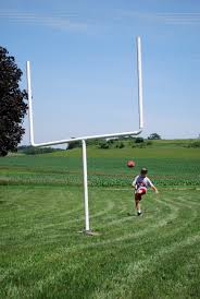 AJ's Homemade PVC Goal Post. Made Especially For Him By His Dad ... Amazoncom Aokur 6x4ft Outdoor Indoor Football Soccer Goal Post 100 Backyard Cheap And Easy Diy Pvc Pipe Diy Field Posts Pvc Pipe Graduation Half Time Field Goal Contest Fail Youtube Forza Match 5 X 4 Greenbow Sports Usa Dream Lighting Replica Sanford Stadium Franklin Go Pro Youth Set Equipment Net World Amazoncouk Goals Outdoors 6 Football Pc Fniture Design Ideas