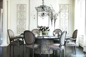 Dining Room Table Decor Ideas Luxury Round Decoration For Top Gray