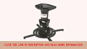 Peerless Ceiling Mount Extension by Rosewill Lcd Dlp Projector Adjustable Swivel Ceiling Mount