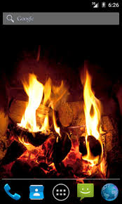 Fireplace Live Wallpaper free android app Android Freeware
