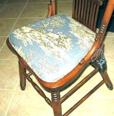 Chair Cushion Ties Dining Ions With Room Pads Kitchen Without Round Outdoor Cushions
