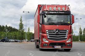 FORSSA, FINLAND - JUNE 21, 2015: Red Mercedes-Benz Cargo Truck ... The Actros Turns 20 Mercedesbenz Fully Electric Truck For Heavyduty Distribution Mercedes Benz Truck Support Vehicle Ford World Rally Team This Pickup Is For Real And Its Coming Next Year Benz 3d Turbosquid 1155195 Sk Wikipedia Lil Peep Reviews Album Of Lil Peep Coub Gifs With Sound Rab Takes The Workshop Lead At Van Ni Gains Semiautonomous Driver Assists Ciceley Commercials Supplies Hph First Trucks