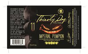 Imperial Pumpkin Ale by The 19 Spookiest Pumpkin Beer Labels Of 2016 Thirsty Bastards