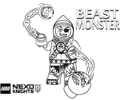 Lego Ninjago Coloring Pages Printable Inspirational Nexo Knights Free