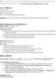 The Best Resumes Examples Salon Resume For