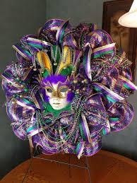 Mardi Gras Classroom Door Decoration Ideas by Mardi Gras Wreath Mardi Gras Front Door Wreath Mardi Gras Decor
