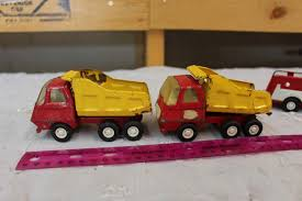 Vintage Metal Tonka Toy Dump Trucks (2), Ambulance & A Fire Truck Amazoncom Tonka Toughest Mighty Truck Handle Color May Vary Toys State Cat 16 Metal Dump Toy Games Trucks In Falkirk Gumtree 1970 Hydraulic Cstruction For Sale Loader And Skateboard Prime Time Auctions Vintage Classic Excellent Cdition Rusty Old Olde Good Things Walmartcom Truckplow Lowboy Flatbed Hauler