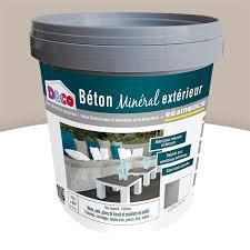 enduit beton cire exterieur enduit béton minéral extérieur resinence cendre 4kg castorama