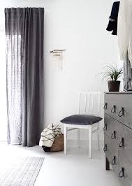 skandinavische schlafzimmer gardinen skandinavisches
