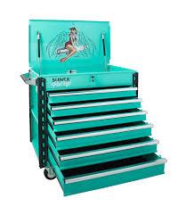 Premium Full Drawer Service Cart-Pin Up Girl Gertie | Sunex Tools